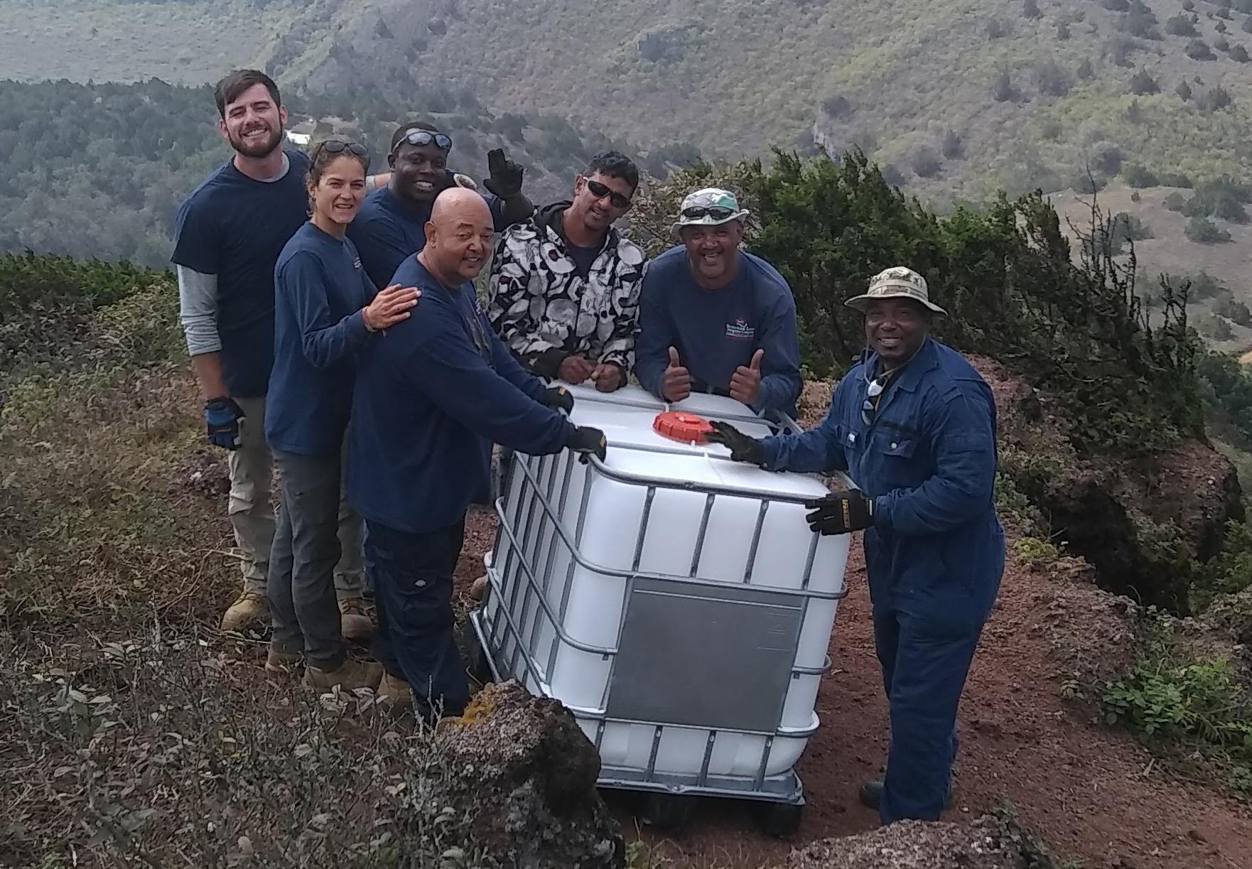 SLNC Volunteers Ascension Island